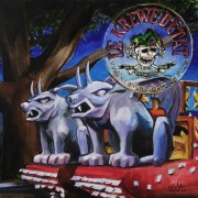 Krewe d'Etat, 2 x 2 feet, giclee with hand finishing on stretched canvas