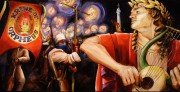 Orpheus, 30 x 60 inches, giclee with hand finishing on stretched canvas