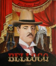Ernest J. Bellocq, Photographer of Storyville, 24 x 20 inches, oil on canvas