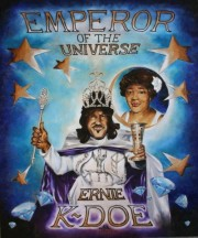 Ernie K-Doe, Emperor of the Universe, 24 x 20 inches, oil on canvas