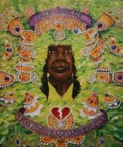 Big Chief Tootie Montana of the Yellow Pocahontas, Chief of Chiefs, 24 x 20 inches, oil on canvas